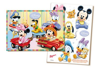 Kit Decorativo Disney Babies III - Regina