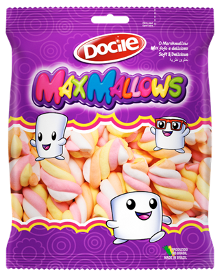 Marshmallow MaxMallows Twist Color 2 c/250grs - Docile