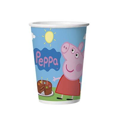 Copo de Papel 180ml. Peppa Pig - Regina