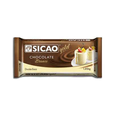 Chocolate Branco Gold 1Kg - Sicao