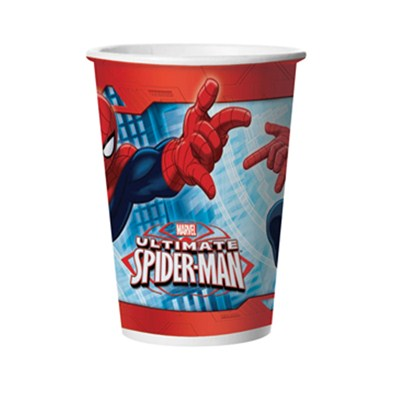 Copo 330ml Ultimate Spider-Man (08 unid.) - Regina