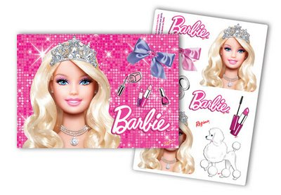 Kit Decorativo Life Of Barbie - Regina