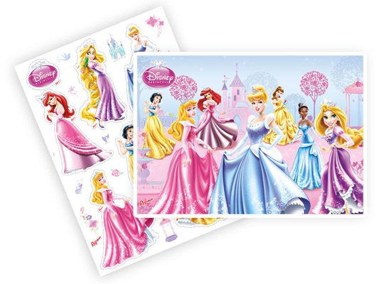 Kit Decorativo Princesas Glamour - Regina