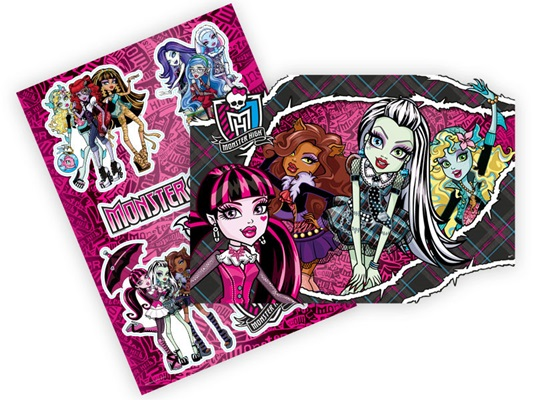 Kit Decorativo Monster High Kids - Regina