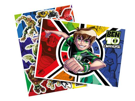 Kit Decorativo Ben 10 Colors - Regina