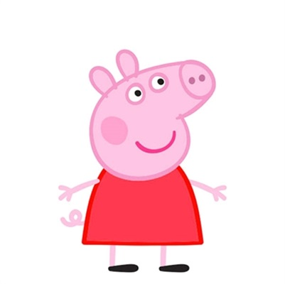 Mini Personagem Peppa Pig c/6 unid. Ref: 05246 - Piffer