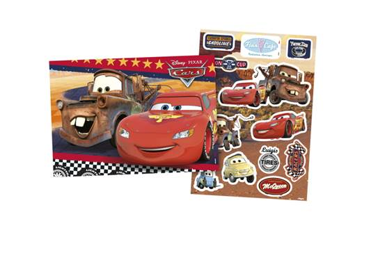 Kit Decorativo Cars Corrida - Regina