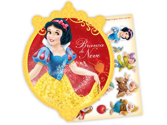 Kit Decorativo Branca de Neve New - Regina